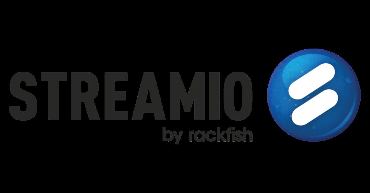 Streamio by Rackfish - transparent logo