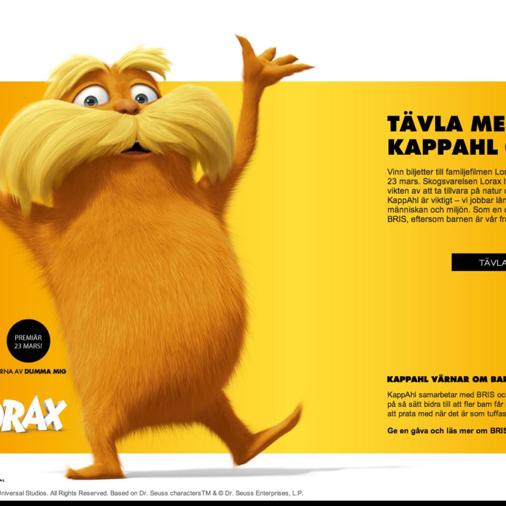 servers för kapp-ahl
