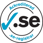 Domänregistrering - ackrediterad .SE registrar
