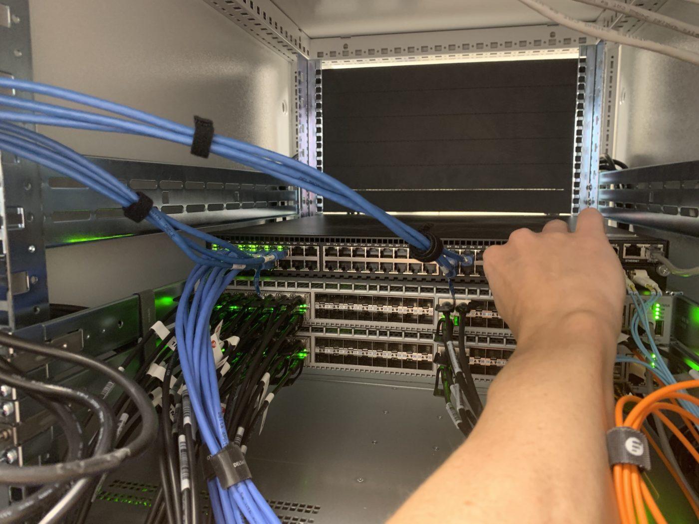 kvalitet på infrastruktur för cloud servrar