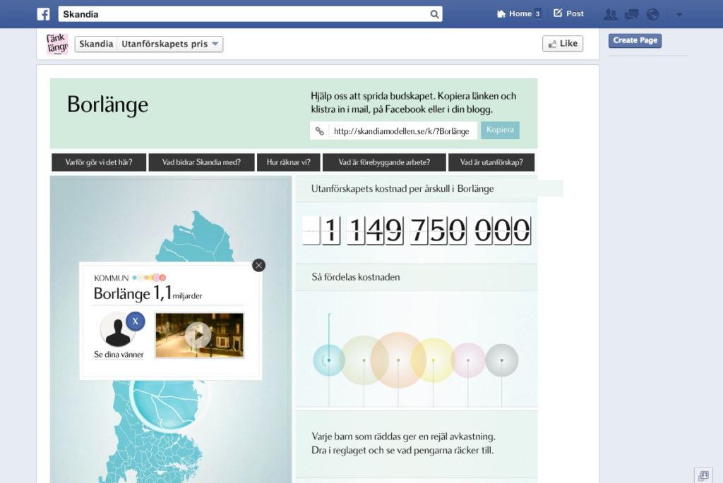 Virtuella servrar för Acne Kampanj - Skandia