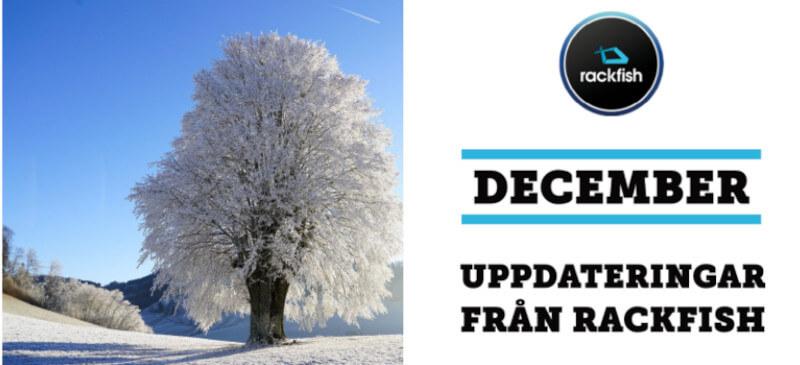 december uppdateringar