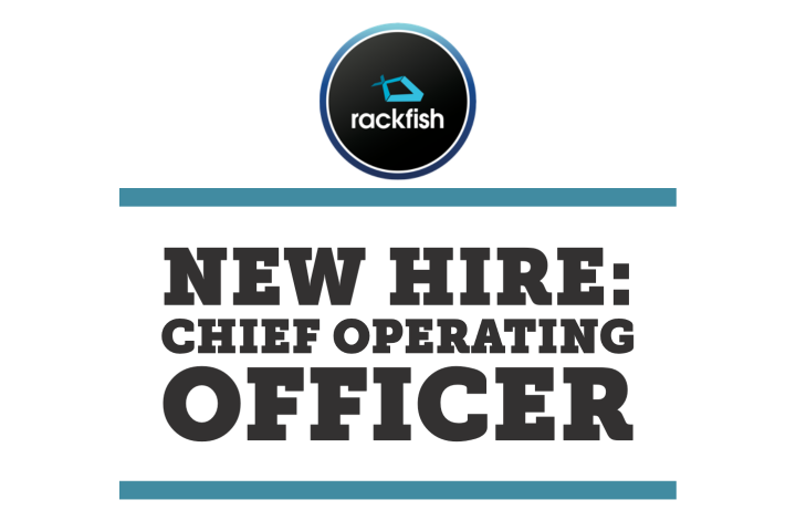New hire for Rackfish: Chief operating officer