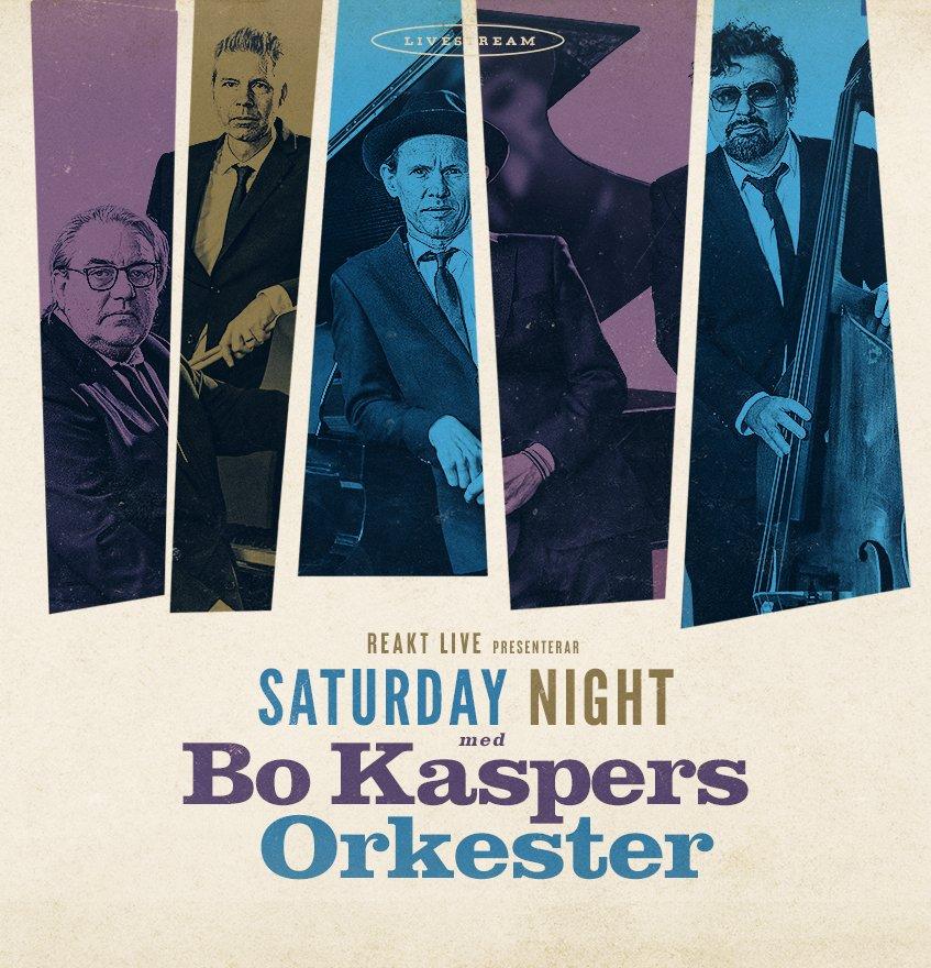 Konsertstreaming - Bo Kaspers Orkester